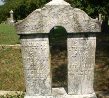 STEVENSON, S.A. - Greene County, Arkansas | S.A. STEVENSON - Arkansas Gravestone Photos