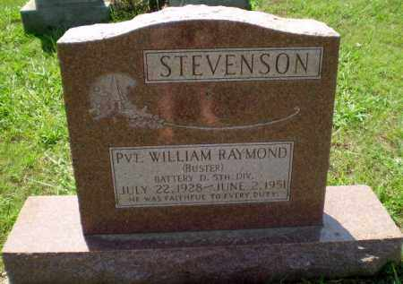 "STEVENSON (VETERAN WWII), WILLIAM RAYMOND ""BUSTER"" - Greene County, Arkansas 