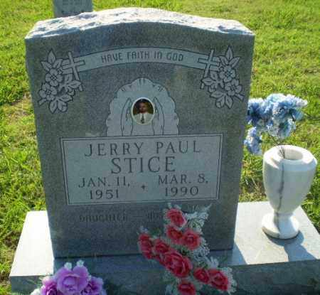 STICE, JERRY PAUL - Greene County, Arkansas | JERRY PAUL STICE - Arkansas Gravestone Photos