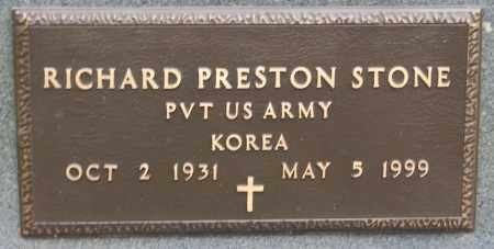 STONE (VETERAN KOR), RICHARD PRESTON - Greene County, Arkansas | RICHARD PRESTON STONE (VETERAN KOR) - Arkansas Gravestone Photos