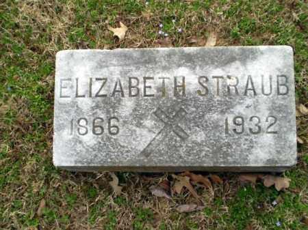 STRAUB, ELIZABETH - Greene County, Arkansas | ELIZABETH STRAUB - Arkansas Gravestone Photos