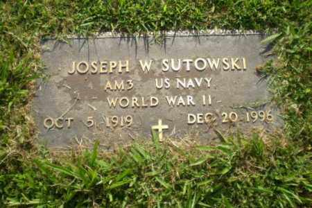 SUTOWSKI  (VETERAN WWII), JOSEPH W - Greene County, Arkansas | JOSEPH W SUTOWSKI  (VETERAN WWII) - Arkansas Gravestone Photos