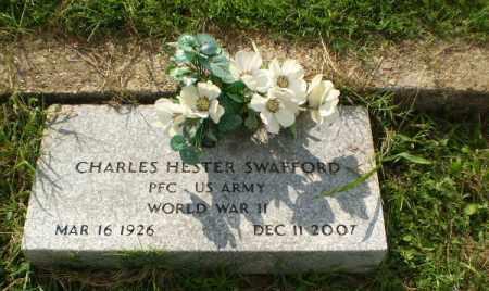 SWAFFORD  (VETERAN WWII), CHARLES HESTER - Greene County, Arkansas | CHARLES HESTER SWAFFORD  (VETERAN WWII) - Arkansas Gravestone Photos