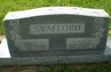 SWAFFORD, GERTRUDE - Greene County, Arkansas | GERTRUDE SWAFFORD - Arkansas Gravestone Photos