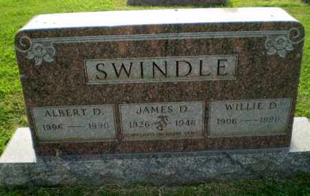 SWINDLE, ALBERT D - Greene County, Arkansas | ALBERT D SWINDLE - Arkansas Gravestone Photos