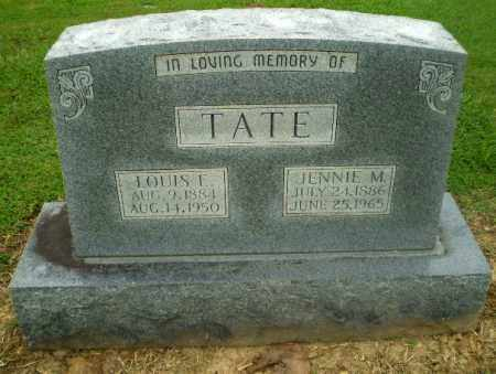 TATE, LOUIS F - Greene County, Arkansas | LOUIS F TATE - Arkansas Gravestone Photos