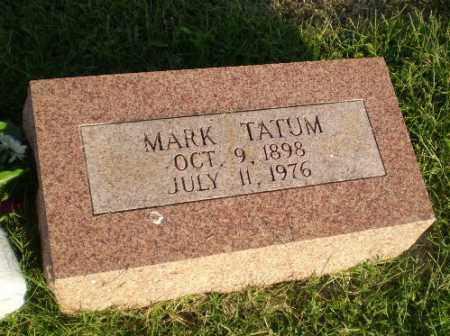 TATUM, MARK - Greene County, Arkansas | MARK TATUM - Arkansas Gravestone Photos