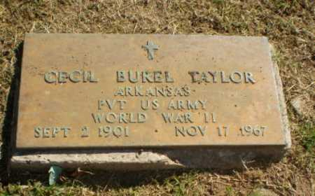 TAYLOR  (VETERAN WWII), CECIL BUREL - Greene County, Arkansas | CECIL BUREL TAYLOR  (VETERAN WWII) - Arkansas Gravestone Photos