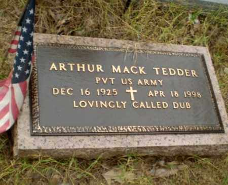 "TEDDER  (VETERAN), ARTHUR MACK ""DUB"" - Greene County, Arkansas 