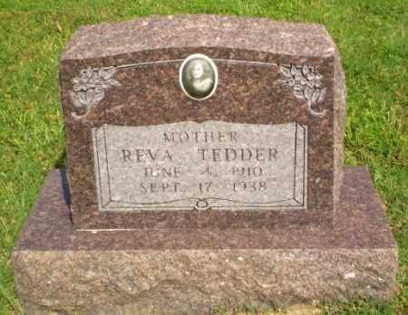 TEDDER, REVA - Greene County, Arkansas | REVA TEDDER - Arkansas Gravestone Photos
