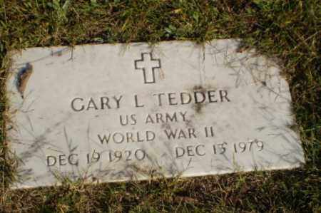 TEDDER (VETERAN WWII), GARY L - Greene County, Arkansas | GARY L TEDDER (VETERAN WWII) - Arkansas Gravestone Photos
