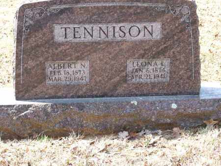 TENNISON, ALBERT N. - Greene County, Arkansas | ALBERT N. TENNISON - Arkansas Gravestone Photos