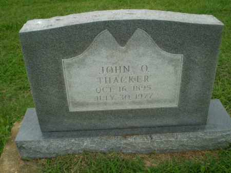THACKER, JOHN O - Greene County, Arkansas | JOHN O THACKER - Arkansas Gravestone Photos