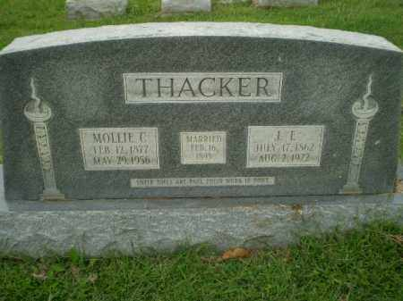THACKER, MOLLIE C - Greene County, Arkansas | MOLLIE C THACKER - Arkansas Gravestone Photos