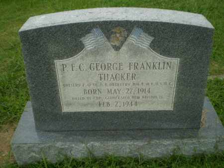 THACKER (VETERAN WWII, KIA), GEORGE FRANKLIN - Greene County, Arkansas | GEORGE FRANKLIN THACKER (VETERAN WWII, KIA) - Arkansas Gravestone Photos
