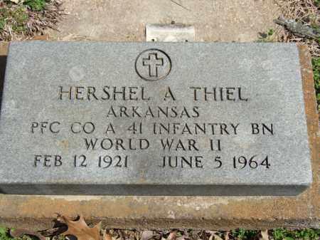 THIEL, HERSHEL A. - Greene County, Arkansas | HERSHEL A. THIEL - Arkansas Gravestone Photos