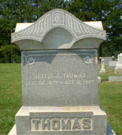 THOMAS, JEFFIE E - Greene County, Arkansas | JEFFIE E THOMAS - Arkansas Gravestone Photos