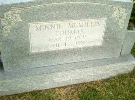 THOMAS, MINNIE - Greene County, Arkansas | MINNIE THOMAS - Arkansas Gravestone Photos