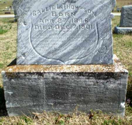 THOMPSON, CALLIE L - Greene County, Arkansas | CALLIE L THOMPSON - Arkansas Gravestone Photos