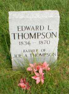 THOMPSON, EDWARD L - Greene County, Arkansas | EDWARD L THOMPSON - Arkansas Gravestone Photos