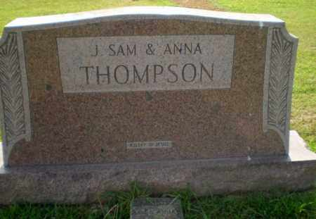 THOMPSON, J.SAM - Greene County, Arkansas | J.SAM THOMPSON - Arkansas Gravestone Photos