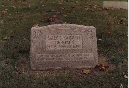 THOMPSON, SALLY J. - Greene County, Arkansas | SALLY J. THOMPSON - Arkansas Gravestone Photos