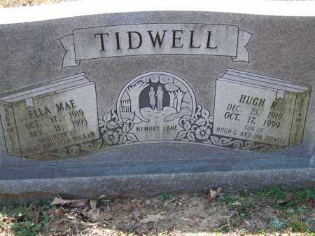TIDWELL, HUGH R. - Greene County, Arkansas | HUGH R. TIDWELL - Arkansas Gravestone Photos