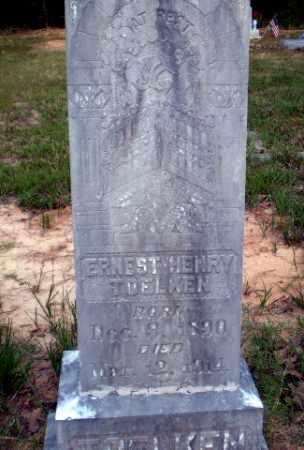 TOELKEN, ERNEST HENRY - Greene County, Arkansas | ERNEST HENRY TOELKEN - Arkansas Gravestone Photos