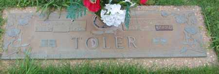 TOLER, CLAUDIA JANE - Greene County, Arkansas | CLAUDIA JANE TOLER - Arkansas Gravestone Photos