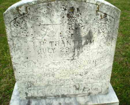 TRANTHAM, JULIA ANN - Greene County, Arkansas | JULIA ANN TRANTHAM - Arkansas Gravestone Photos