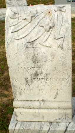 TREADWAY, MARTHA J - Greene County, Arkansas | MARTHA J TREADWAY - Arkansas Gravestone Photos