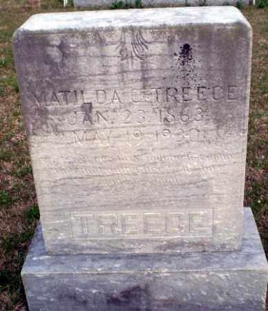 TREECE, MATILDA C - Greene County, Arkansas | MATILDA C TREECE - Arkansas Gravestone Photos
