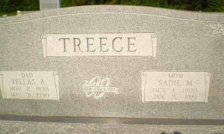 TREECE, TELLAS A - Greene County, Arkansas | TELLAS A TREECE - Arkansas Gravestone Photos