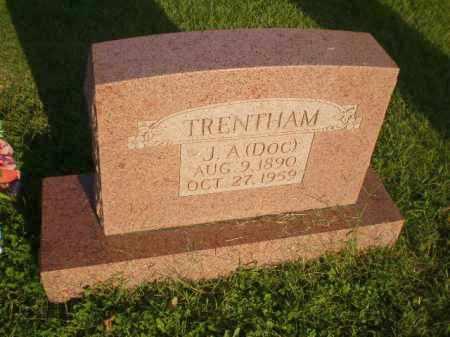 "TRENTHAM, J.A. ""DOC"" - Greene County, Arkansas | J.A. ""DOC"" TRENTHAM - Arkansas Gravestone Photos"