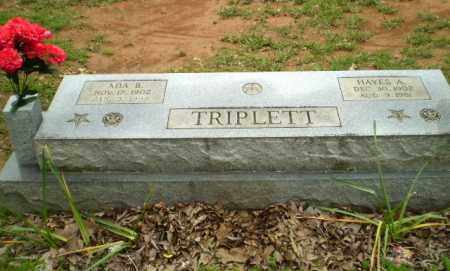 TRIPLETT, ADA B - Greene County, Arkansas | ADA B TRIPLETT - Arkansas Gravestone Photos