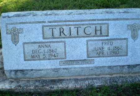 TRITCH, ANNA - Greene County, Arkansas | ANNA TRITCH - Arkansas Gravestone Photos