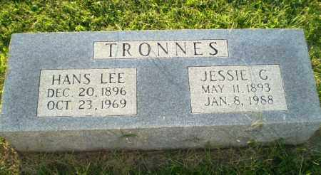 TRONNES, JESSIE G - Greene County, Arkansas | JESSIE G TRONNES - Arkansas Gravestone Photos