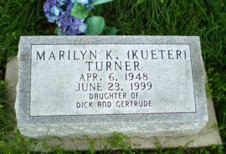 KUETER TURNER, MARILYN K - Greene County, Arkansas | MARILYN K KUETER TURNER - Arkansas Gravestone Photos