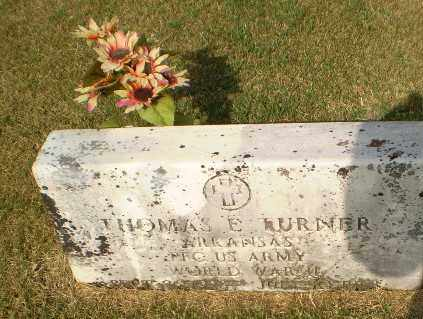 TURNER (VETERAN WWII), THOMAS E - Greene County, Arkansas | THOMAS E TURNER (VETERAN WWII) - Arkansas Gravestone Photos