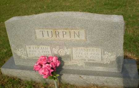 TURPIN, W. LUCIAN - Greene County, Arkansas | W. LUCIAN TURPIN - Arkansas Gravestone Photos