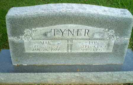 TYNER, LON - Greene County, Arkansas | LON TYNER - Arkansas Gravestone Photos