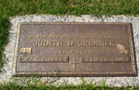 URBANEK, JUDITH D - Greene County, Arkansas | JUDITH D URBANEK - Arkansas Gravestone Photos