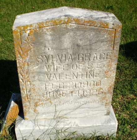 VALENTINE, SYLVIA GRACE - Greene County, Arkansas | SYLVIA GRACE VALENTINE - Arkansas Gravestone Photos
