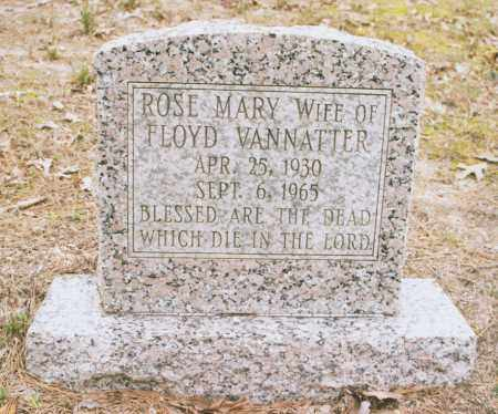 VANNATTER, ROSE MARY - Greene County, Arkansas | ROSE MARY VANNATTER - Arkansas Gravestone Photos