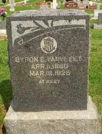 VANVLEET, BYRON E - Greene County, Arkansas | BYRON E VANVLEET - Arkansas Gravestone Photos