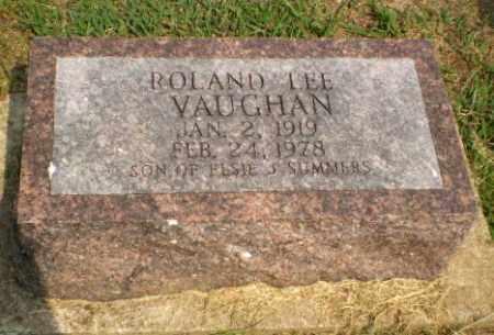 VAUGHAN, ROLAND LEE - Greene County, Arkansas | ROLAND LEE VAUGHAN - Arkansas Gravestone Photos