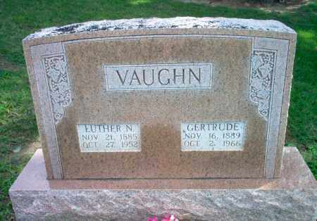 VAUGHN, LUTHER N - Greene County, Arkansas | LUTHER N VAUGHN - Arkansas Gravestone Photos