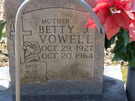 VOWELL, BETTY J. - Greene County, Arkansas | BETTY J. VOWELL - Arkansas Gravestone Photos