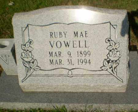 VOWELL, RUBY MAE - Greene County, Arkansas | RUBY MAE VOWELL - Arkansas Gravestone Photos