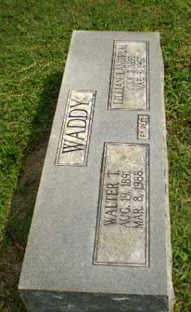 WADDY, WALTER T - Greene County, Arkansas | WALTER T WADDY - Arkansas Gravestone Photos